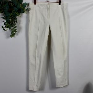 burberry straight trousers